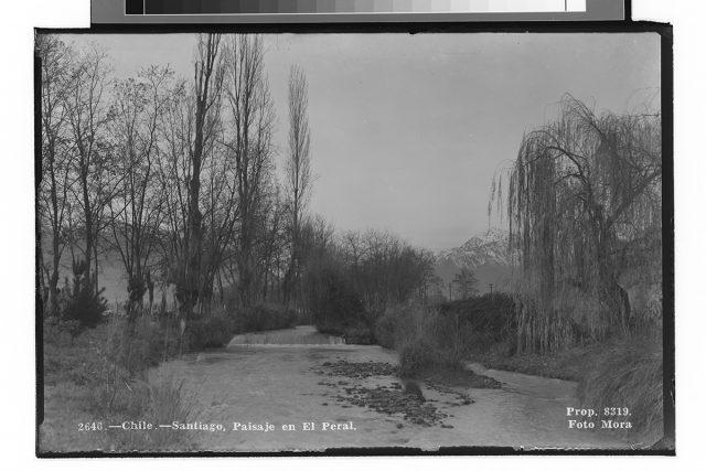 Chile – Santiago, Paisaje en el Peral.