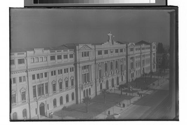 Casa Central de la Pontificia Universidad Católica de Chile.