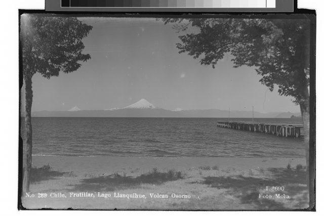 Chile, Frutillar, Lago Llanquihue, Volcán Osorno.