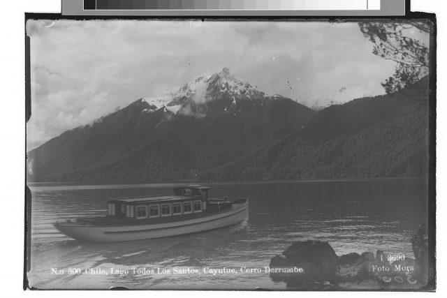 Chile, Lago Todos Los Santos, Cayutue, Cerro Derrumbe.