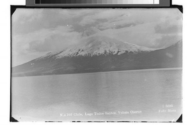 Chile, Lago Todos Santos, Volcán Osorno.