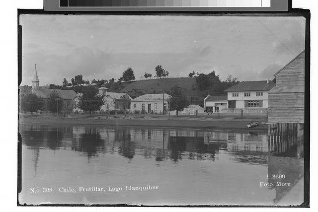 Chile, Frutillar, Lago Llanquihue.