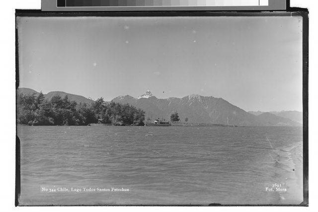 Chile, Lago Todos Santos Petrohué.