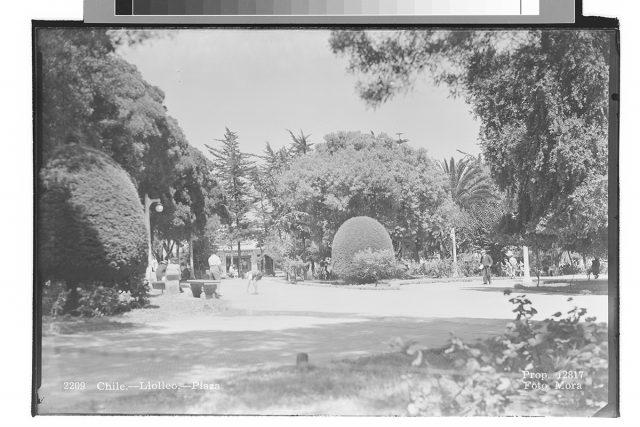 Chile – Llolleo – Plaza.
