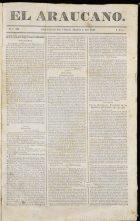 Periódico El Araucano